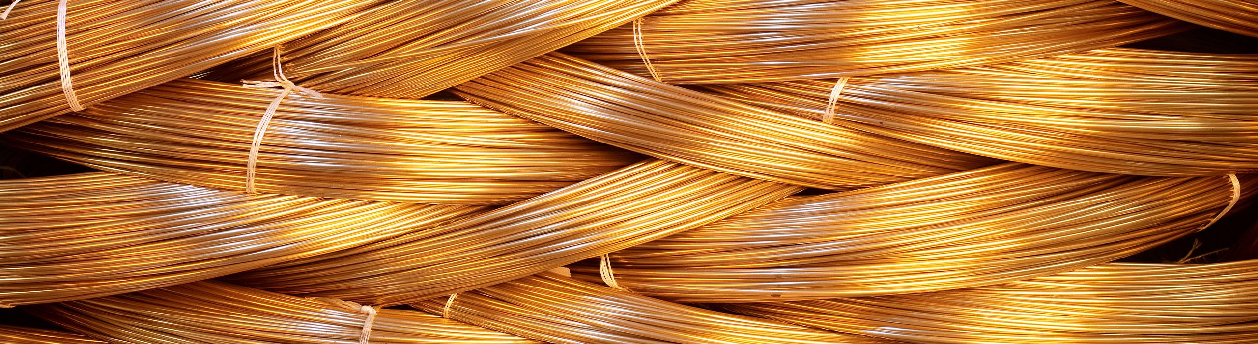 Werkstoffe: Messing, Kupfer, Stahl, Edelstahl, Aluminium, Kupfer-Nickel